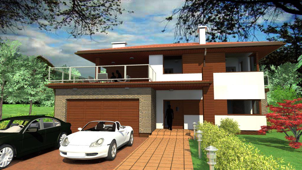 Dom jednorodzinny LUX 1