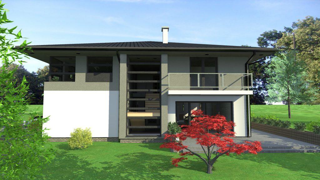 Dom jednorodzinny LUX 2